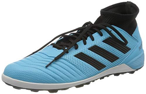 adidas Predator 19.3 Turf, Zapatilla de fútbol, Bright Cyan-Core Black-Solar Yellow, Talla 9 UK (43 1/3 EU)