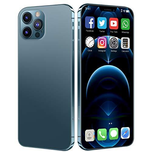 Lenove Teléfono Móvil Libre 5G, i12Pro MAX - Smartphone de 6.7' (12 GB RAM, 512 GB de Memoria Interna, WiFi, Procesador 10 Core, Cámara Principal de 48 MP y Frontal (Selfie) 24MP, Android 10.0)