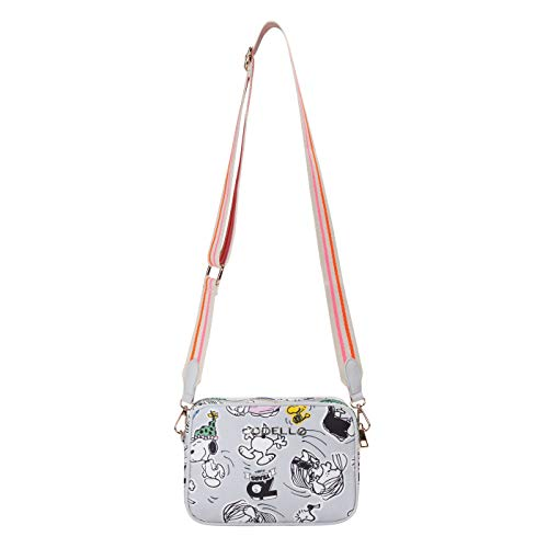 CODELLO PEANUTS Crossbody Bag mit Snoopy & Co. aus Canvas