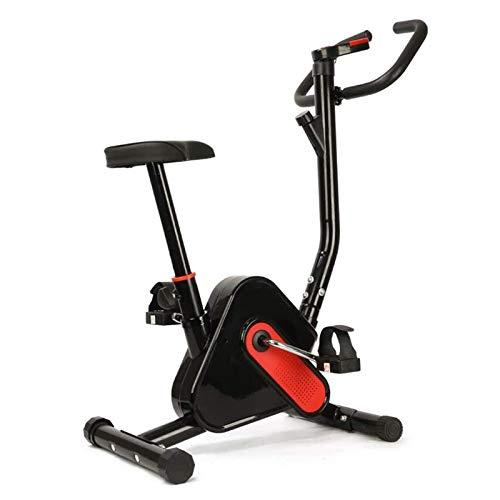 WJFXJQ Ejercicio Bicicleta Ajustable Resistencia magnética, Bicicleta estacionaria es la Bicicleta de Entrenamiento Perfecta for Uso en el hogar for Hombres, Mujeres y Adultos Mayores.
