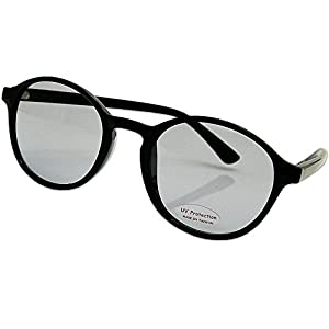 シャープ ボストン レトロ 小顔効果抜群 UVカット ライトスモーク レンズ ストリート おしゃれ サングラス 5684A-20