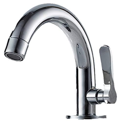 Life System 洗面用 シングルレバー 単水栓 手洗いボウル用 洗面台 蛇口 水道 立水栓 トイレ 洗面 手洗い ST62 (単水栓)
