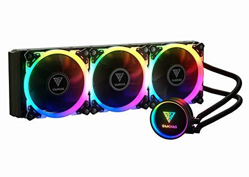 Gamdias Chione p1a-360r 360mm RGB CPU Sistema di Raffreddamento a Liquido