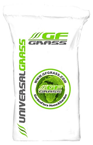 Rasensamen GF Universal Grass 5kg Universalrasen Zierrasen Grassamen Rasensaat Saatgut Rasensaatgut Rasen Gras