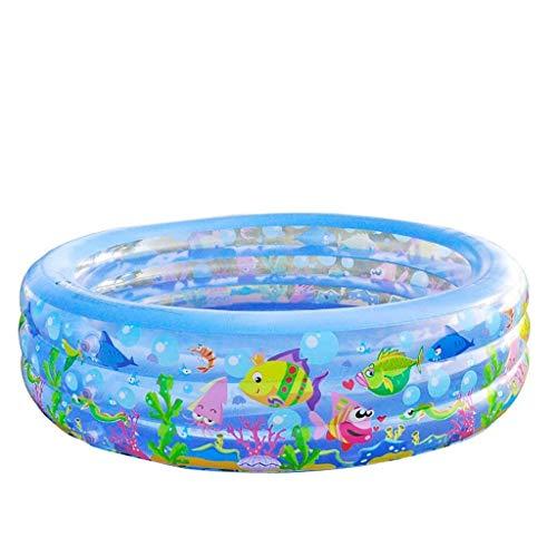 JJ Baignoire, piscines Baby Pool Pompe à Pied pour bébé Gonflable Isolation pour épaississement de Jeunes Enfants Grand Format Pliable: 185 * 50m Baignoire Baignoire