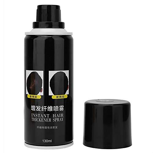 360ml jet de fibre de construction de croissance de cheveux jetables unisexe dissimule la reconstruction de cheveux de perte, fibres de cheveux de délié pour éclaircir les cheveux(Brun clair)