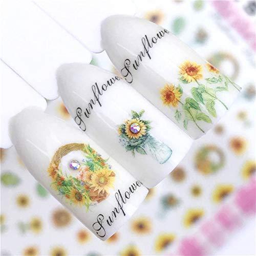MEIYY Autocollant D'ongle Nouveau Nail Art Sticker Regatta Patterns Conseils De Transfert Manucure Nail Art 3D Décoration