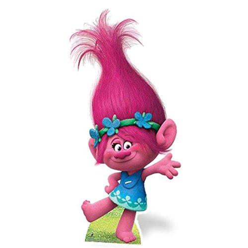 Ventilador unidades–princesa Poppy de trols//Figura de cartón Standup–incluye 8x 10Foto de actor