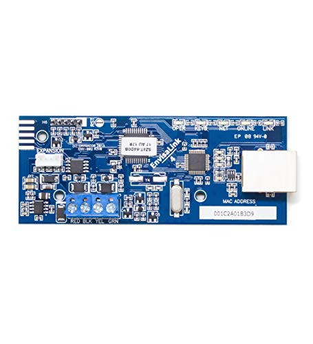 EyezOn Envisalink EVL-4EZR IP Security Interface Module for DSC and Honeywell (Ademco) Security Systems, Compatible with Alexa