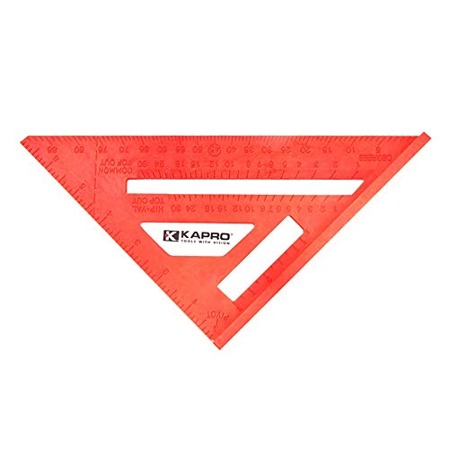 UANDM Regla Cuadrada Multifuncional Regla triángulo