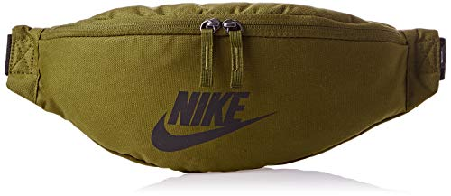 Nike Nk Heritage Hip Pack Small Items Waistpacks, Hombre, Olive Flak/Olive Flak/Black, MISC