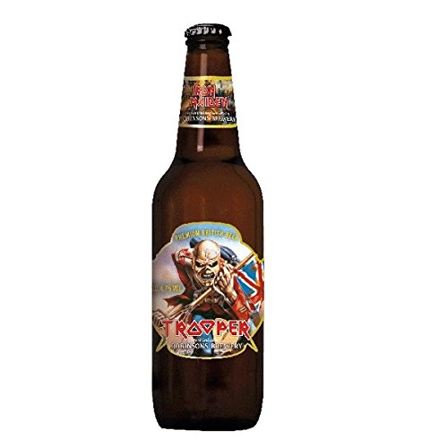 Iron Maiden Trooper Beer 8 x 500ml inc. 2.00€ EINWEG Pfand