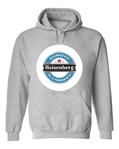 Wicked Design Heisenberg Beer Funny Logo Unisex Kapuzenpullover Sweat Hoodie X-Large