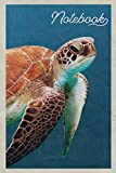 Notebook: Leatherback Sea Turtle Habitat Handy Composition Book Journal Diary for Men, Women, Teen &...
