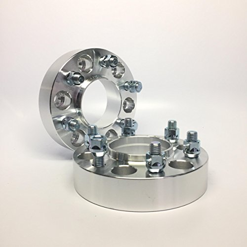 2 Pieces 1.5' 38mm Hub Centric Wheel Spacers Bolt Pattern 6x120 Center Bore 66.9mm Chevy Canyon 6Lug Truck Adapters