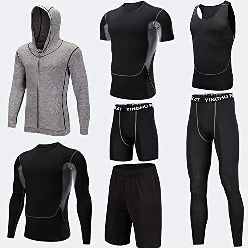 Atmungsaktives Sport-Ski-Thermo-Unterwäsche-Set Fitness Kleidung Set Skiunterwäsche Winter Suit Outdoor Sports D,M