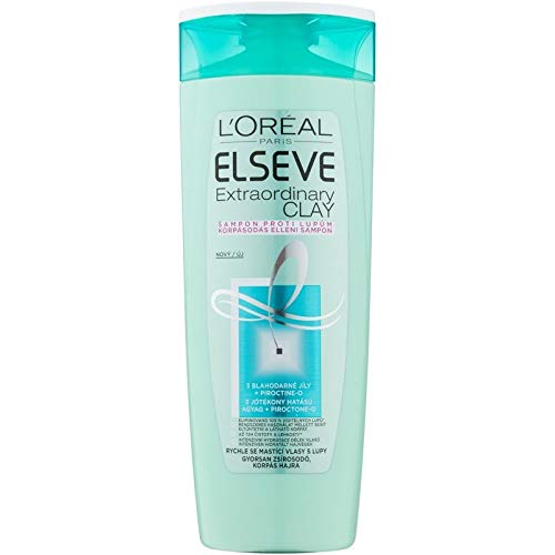 L'Oréal Paris Elvive Extraordinary Clay Anti-roos shampoo 400 ml