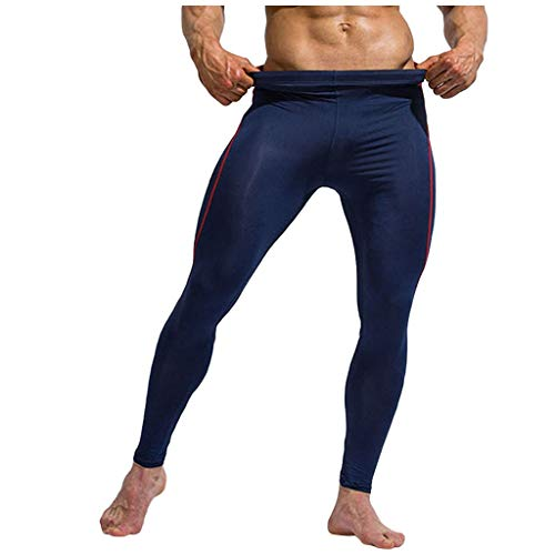 Kompressionsleggings Herren Sports Hose Compression Tights Fitness Leggings Kompressionshose Lang Tight Stretch Hose