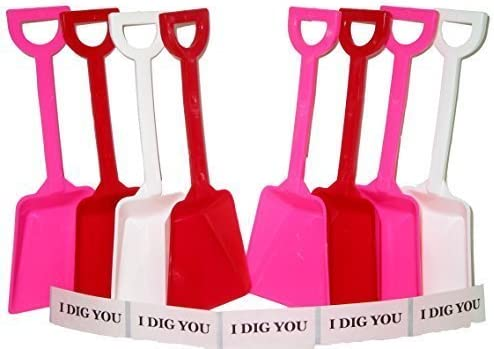 Toy Plastic Shovels Red All stores are sold White Pink Tall Inches Pack 24 Oklahoma City Mall 7