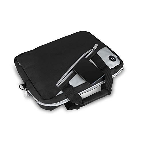 NGS Monray Ginger Black 14  - Valigetta Laptop Bag Borsa per Notebook, Nylon Resistente