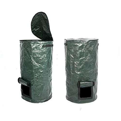 arundel services 2 x Bolsa para Compost (Polietileno, Recipiente para Compost), 35...