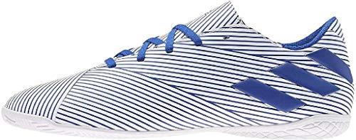 Adidas Nemeziz 19.4 IN, Zapatillas Deportivas Fútbol Hombre, Azul (FTWR White/Team Royal Blue/Core Black), 46 EU
