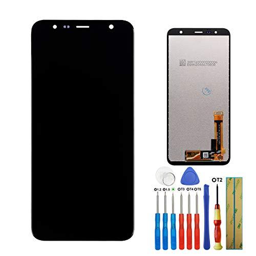E-yiiviil Écran Tactile LCD avec Outils pour Samsung Galaxy J4 Plus J6 Plus 2018 J4+ J415 SM-J415F J415G J415M