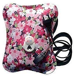 Zerfa INDIA Electric heating bag, hot water bag, Heating Pad, Heat Pouch Hot Water Bag, Electrical Hot Warm Water Bag, Heat Pad, Heat Bag with Gel for Neck, Back Pain Relief (Multicolor)