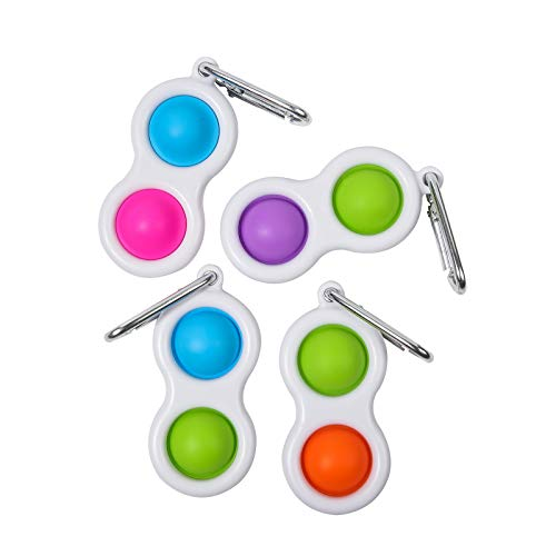 TOMOIN Simple Dimple Decompression Toys Portable Handheld Mini Anxiety Autism Early Educational...