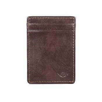 Dockers Men s Front Pocket Wallet Brown One Size