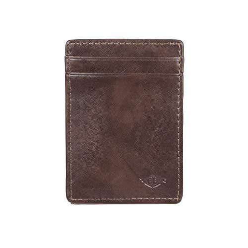 Dockers Men's Front Pocket Wallet, Brown, One Size