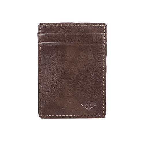 Dockers Men's Front Pocket Wallet, Brown, One Size