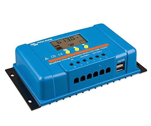 Regulador Solar de Corriente BlueSolar PWM-LCD&USB 12/24V-30A