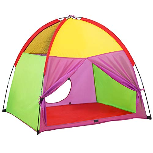 ATDAWN Kids Play Tent, Kids Pop Up Tent, Camping Playground, Indoor/Outdoor Children Playhouse for...