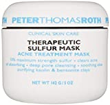 Therapeutic Sulfur Acne Treatment Mask, Maximum-Strength Sulfur Mask for Acne, Clears Up and Helps...