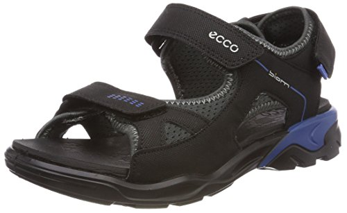 Ecco Unisex-Kinder BIOMRAFT Peeptoe Sandalen, Schwarz (Black/Dark Shadow), 30 EU