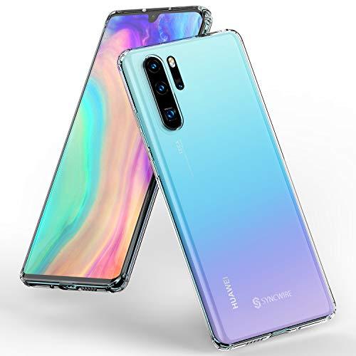 Syncwire Funda para Huawei P30 Pro - Claro como el Cristal Carcasa Huawei P30 Pro TPU Premiu [Anti-Amarillo] [Soporte inalámbrico de carga] Funda Protectora de Cubierta Delgada – Transparente