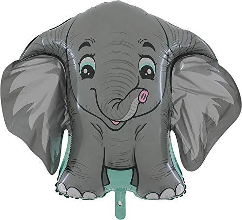 Toyland 40 'Grey Elephant Character Foil - Kinderpartyballon - Partydekoration