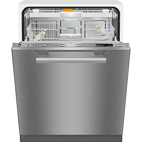 Lavavajillas totalmente integrado XXL modelo PG 8133 SCVi con bandeja portacubiertos 3D+, color gris, 57 x 59,8 x 84,5 centímetros (referencia: Miele 61813362SER)