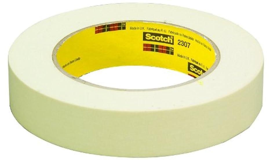 3M Masking Tape 2307 Tan, 48 mm x 55 m (Case of 24)