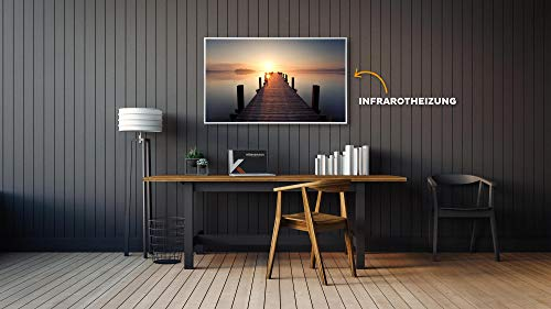 Könighaus Fern Infrarotheizung – Bildheizung in HD Qualität mit TÜV/GS – 200 Bilder – 1000 Watt (1. Steg gerade) Bild 2*