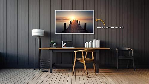 Könighaus Fern Infrarotheizung – Bildheizung in HD Qualität mit TÜV/GS – 200 Bilder – 1000 Watt (1. Steg gerade) Bild 5*