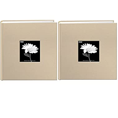 Pioneer Pocket Fabric Frame Cover Photo Album (Biscotti Beige(Bundle))