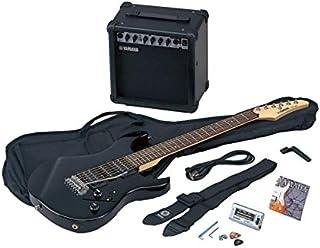 Yamaha ERG121GPIIBL Paquete de Guitarra Eléctrica, negro