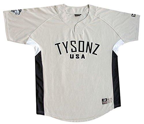 Bequemes Tysonz Kinder Baseball Jerseys Sport Kids T-Shirt Trikot Shirt Outdoor Shirt Verschiedene Ausführungen (M (134/140), BBS10)