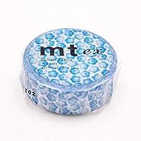 カモ井 マスキングテープ mt ex MTEX1P160 ネモフィラ
