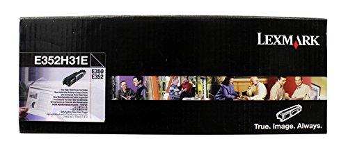 Lexmark E35x Toner Cartridge–Tonerkartuschen und Laser (schwarz, Lexmark E250D Lexmark E250DN Lexmark E350D Lexmark E352DN Lexmark E250D Lexmark E250DN, 3500Seiten)