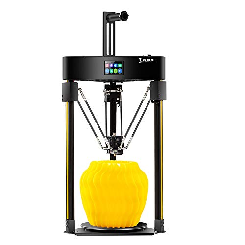 FLSUN Q5 Entry-Level Delta 3D Printer with Auot-Leveling,Touch Screen Support,Φ200x200mm Printing Size