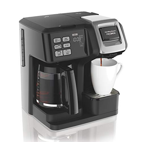 Hamilton Beach 49976 FlexBrew Coffee Maker, Single Serve & Full Pot, Compatible with...