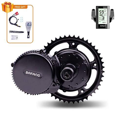 Bafang 750W 48v Kit Bici Elettrica con Batteria 52V Opzionale 8FUN Ebike Motor Conversione Kit BBS02B BBSO2 Motore Elettrico per MTB Biciclette Elettriche
